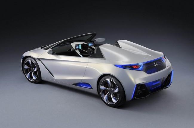 Honda EV-STER Concept на автосалоне в Токио