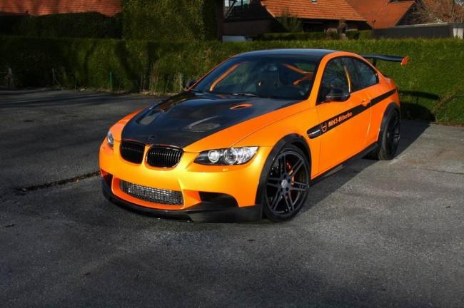 Manhart MH3 V8 RS Clubsport на базе BMW M3 E92
