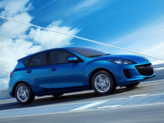 Фото новой Mazda 3 2012