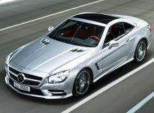 Первые фото Mercedes SL 2013