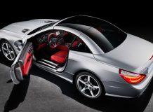 В сеть попали фото Mercedes SL 2013