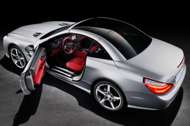 Первые фото нового Mercedes SL 2013
