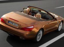 Фотографии Mercedes SL нового поколения