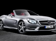 Фото нового Mercedes SL-Class
