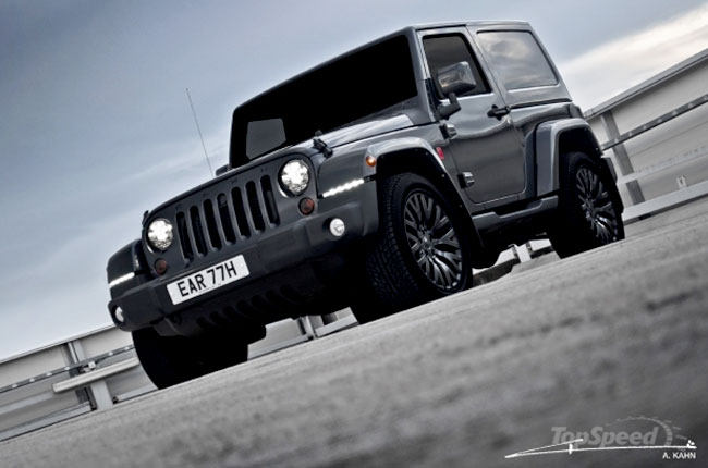 Jeep Wrangler Military Edition от ателье Kahn Design