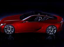 Тизер концепта Lexus LF-LC