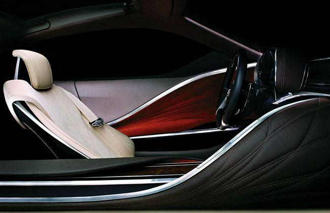 Интерьер Lexus LF-LC Concept