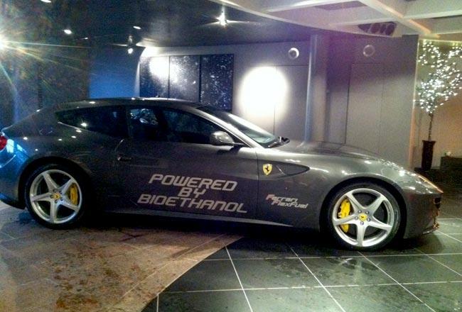 Ferrari FF на биоэтаноле