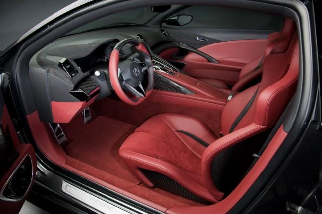 Фото салона Acura NSX Concept II