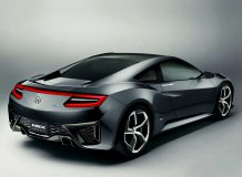 Новая Акурс NSX Concept II фото