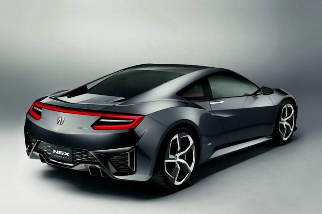 Фото будущей Honda NSX