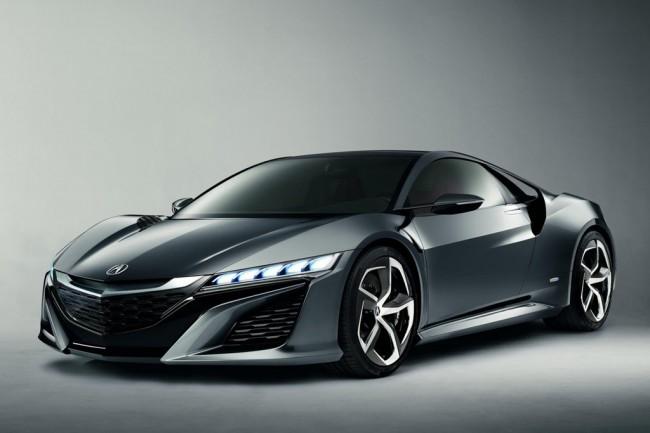 Фото Acura NSX Concept II