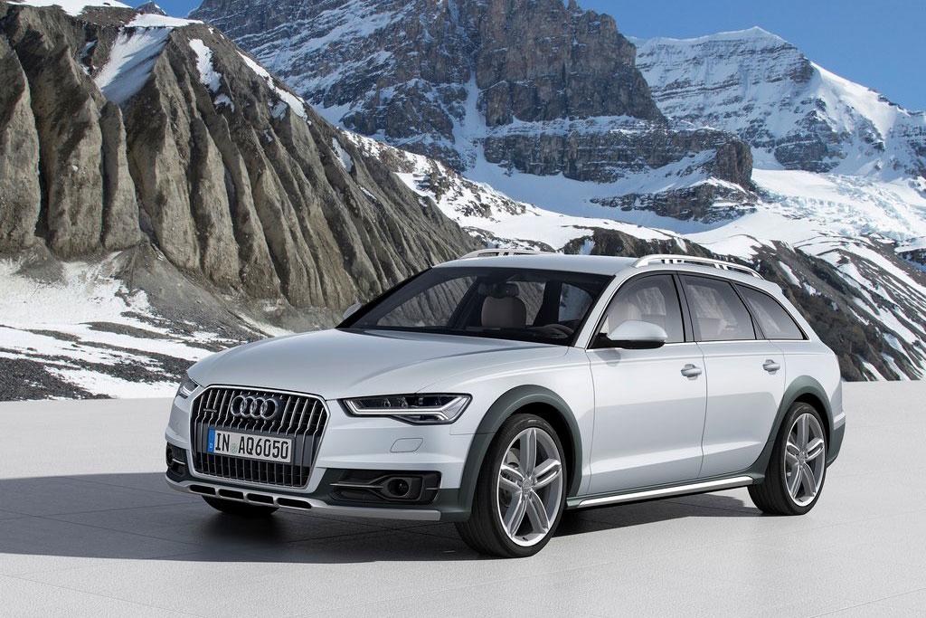Обновленная Audi A6 Allroad quattro 2015