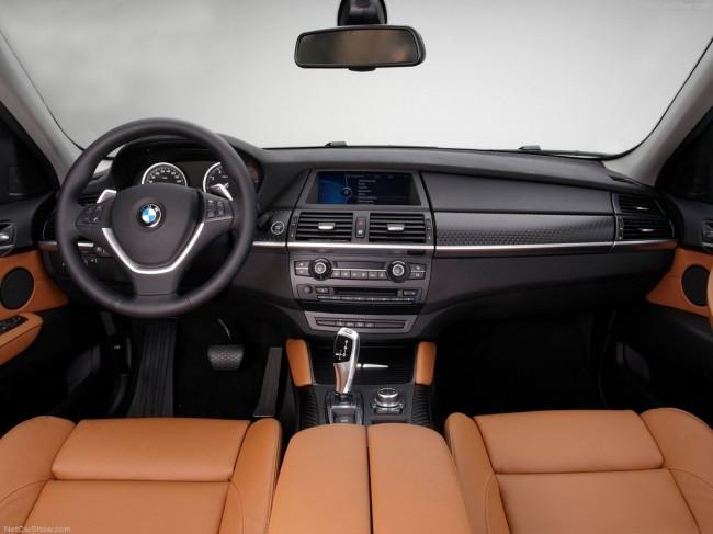 Салон BMW X6 E71