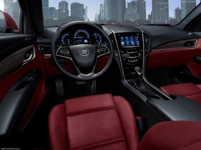 Салон Cadillac ATS