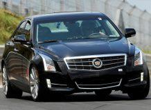 Черный Cadillac ATS фото
