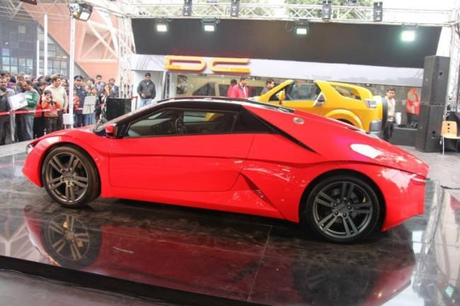 Первый индийский суперкар DC Design Avanti
