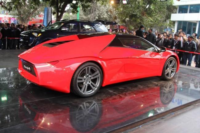 DC Avanti показали на автосалоне в Нью-Дели