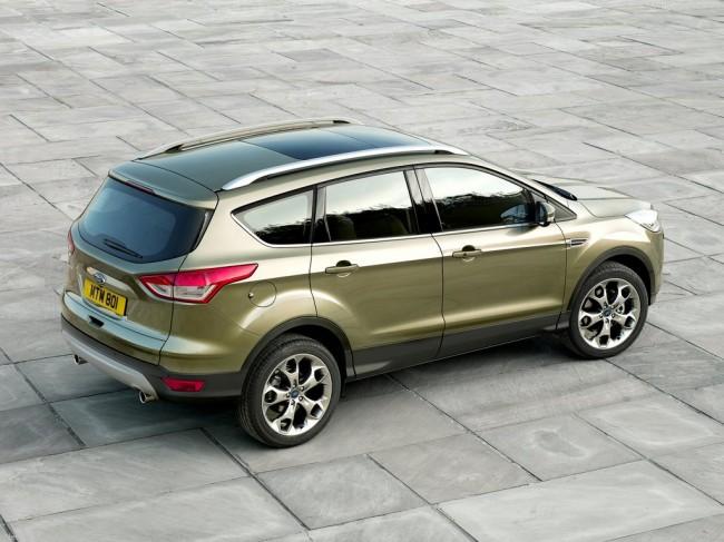 Ford Kuga New 2013 фото