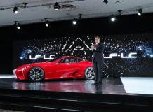 Lexus LF-LC Concept в Детройте