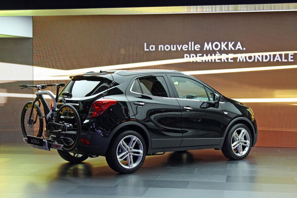 Opel Mokka с креплением Flex-Fix