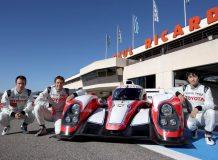 Первый экипаж команды Toyota