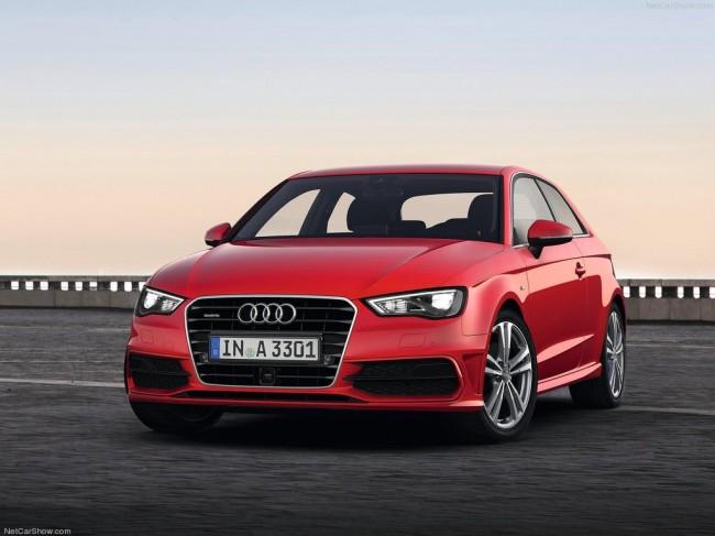 Новая Audi A3 (8V)