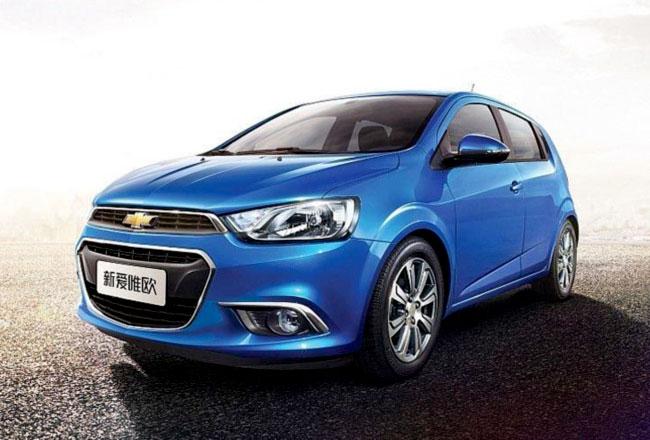 Обновленный Chevrolet Aveo 2014