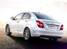 Обновленный Chevrolet Aveo 2015