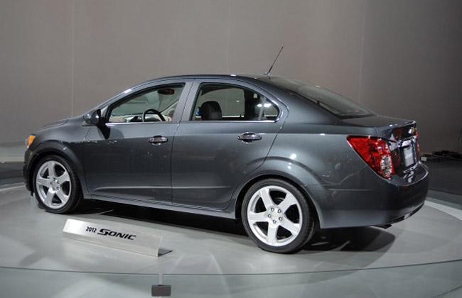 Объявлены цены на новый Chevrolet Aveo седан 2012