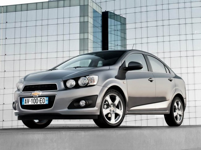 Новый Chevrolet Aveo 2 седан
