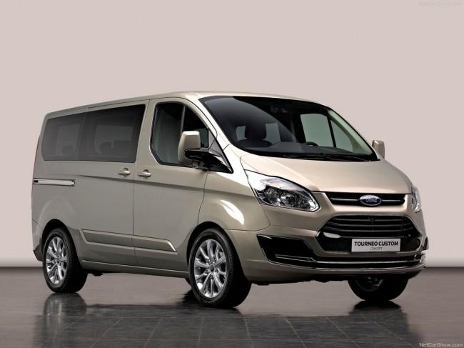 Ford представил Tourneo Custom Concept