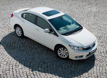 Новая Хонда Цивик седан 2012