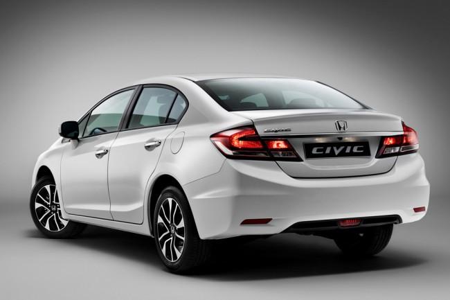 Новая Хонда Цивик 4Д 2014