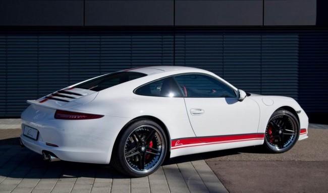 Тюнинг нового Porsche 911 (991) от Lumma Design