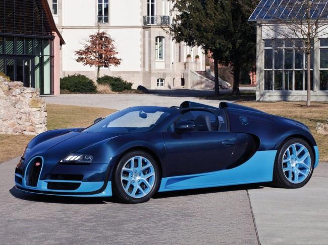 Bugatti Veyron Grand Sport Vitesse фото
