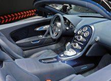 Фото салона Bugatti Veyron Vitesse