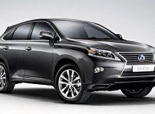 Обновленный Lexus RX 2012