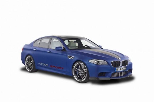 Тюнинг BMW M5 F10 от ателье AC Schnitzer