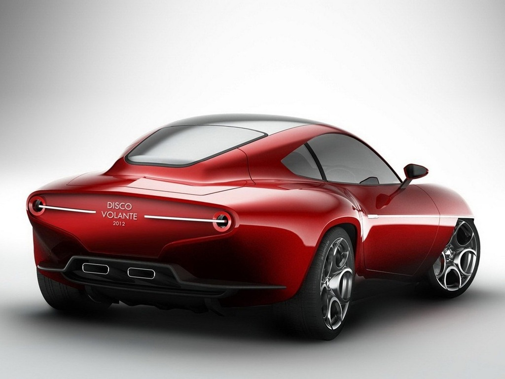 Alfa Disco Volante от Carrozeria Touring