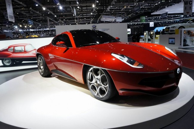 Alfa Disco Volante 2012 от Carrozeria Touring