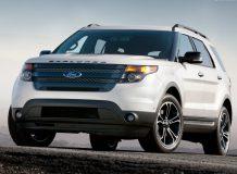 Фото нового Ford Explorer Sport