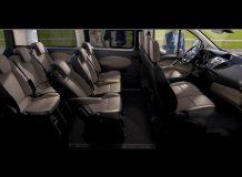 Интерьер Ford Tourneo Custom