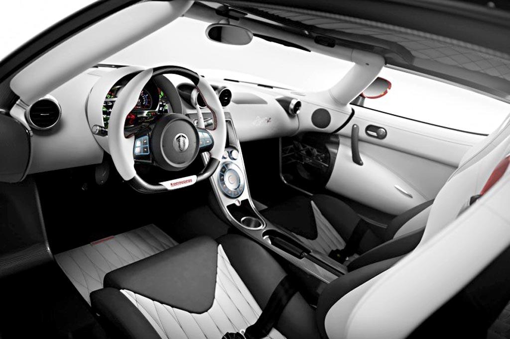 Интерьер Koenigsegg Agera R фото