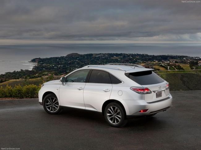 Обновленный Lexus RX (AL10)