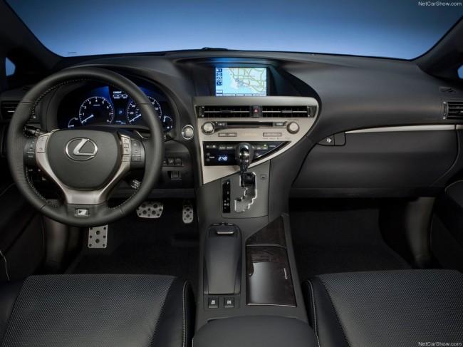 Салон Lexus RX