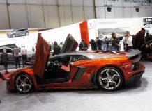 Тюнинговый Aventador от Mansory фото