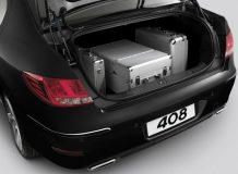Багажник нового Пежо 408 фото