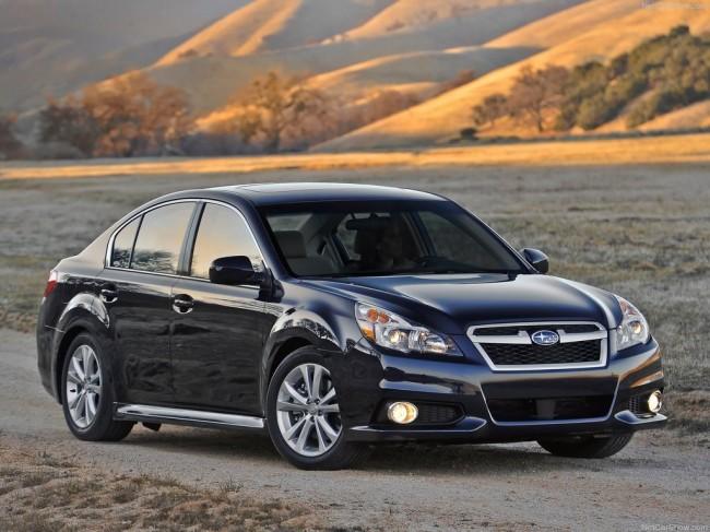 Обновленная Subaru Legacy 2013