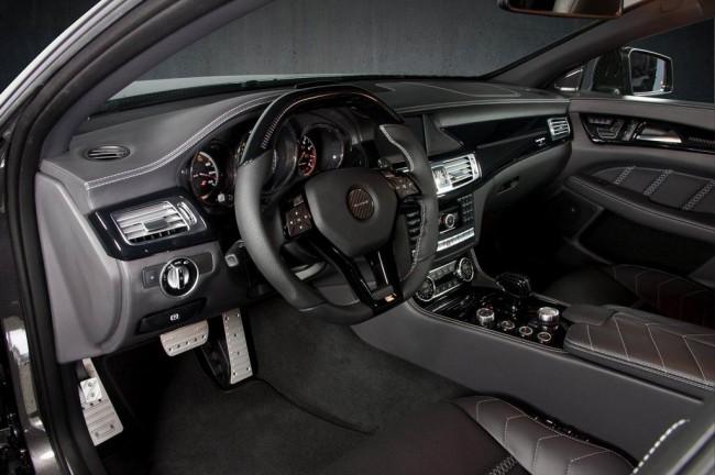 Тюнинг салона Mercedes CLS от ателье Mansory